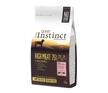 True Instinct Dog HIGH MEAT Salmon MED/MAX 12кг